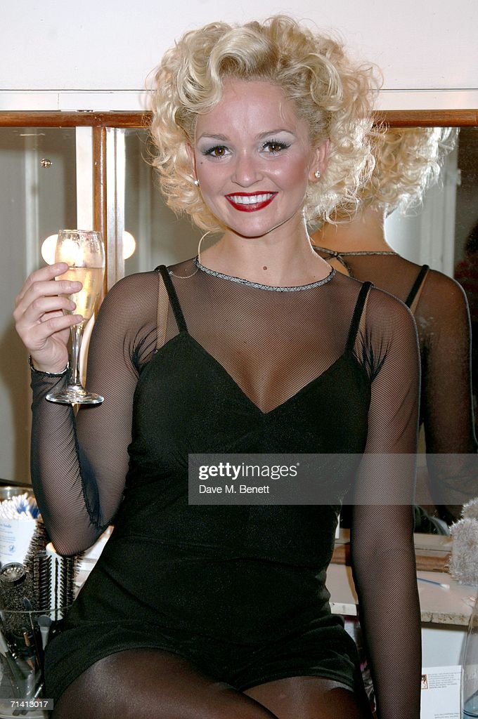 Jennifer Ellison returns to the Musical Chicago' as Roxie Hart : News Photo