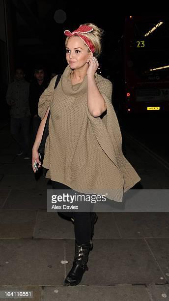 Jennifer Ellison sighting on March 20 2013 in London England
