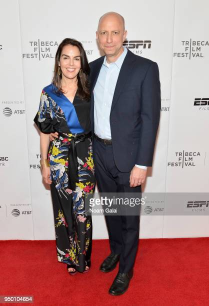 Jennifer Epstein and Michael Epstein attend a screening of House Two during the 2018 Tribeca Film Festival at Cinepolis Chelsea on April 22 2018 in...