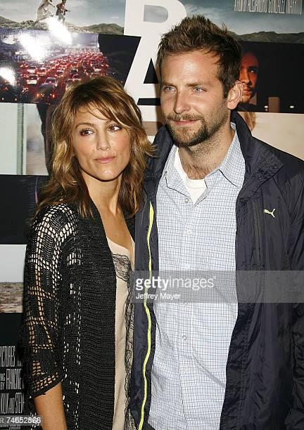 Jennifer Esposito and Bradley Cooper at the Mann Village Theatre in Westwood California