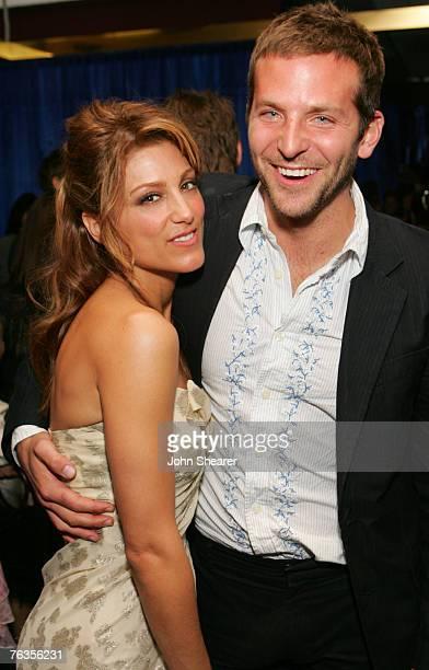Jennifer Esposito and Bradley Cooper