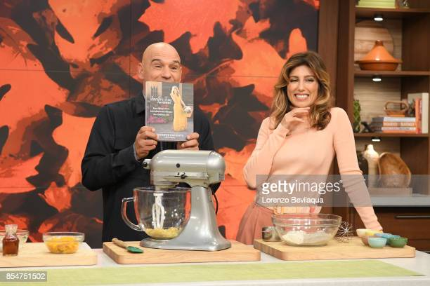THE CHEW Jennifer Esposito and Lee Daniels are guests Wednesday September 27 2017 on Walt Disney Television via Getty Images's The Chew The Chew airs...