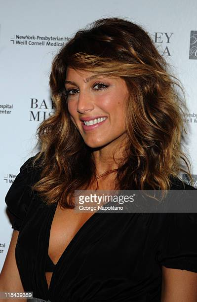 Jennifer Esposito arrives at the Badgley Mischka Fall Fashion Show and Benefit on May 12 2008 at Cipriani 42nd Street in New York City