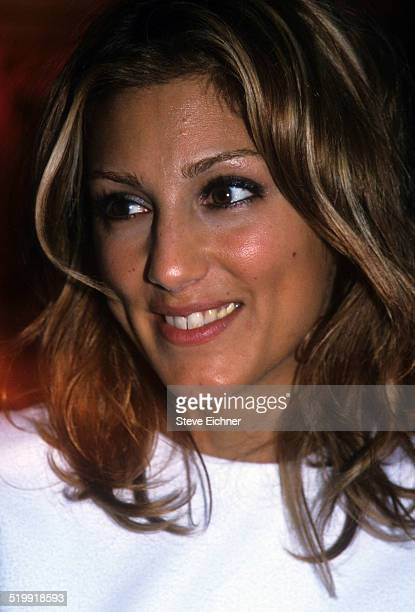 Jennifer Esposito at Donna Karan fashion show New York September 1 1999