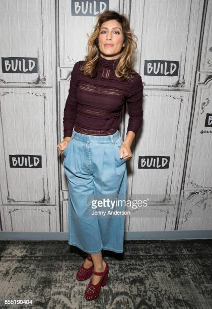 Jennifer Esposito attends AOL Build Series to discuss Jennifer's Way Kitchen at Build Studio on September 28 2017 in New York City