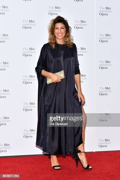Jennifer Esposito attends the 2017 Metropolitan Opera Opening Night at The Metropolitan Opera House on September 25 2017 in New York City