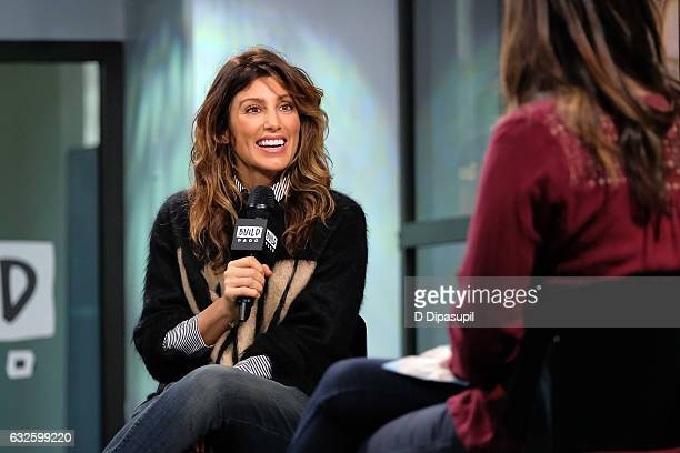 Jennifer Esposito attends the Build Series to discuss NCIS and The Affair at Build Studio on January 24 2017 in New York City