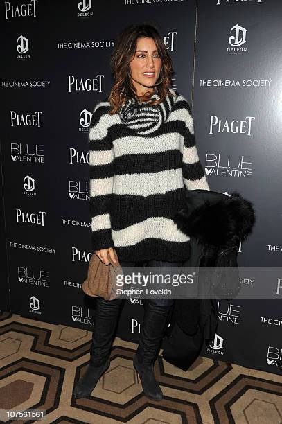 Jennifer Esposito attends the Cinema Society Piaget screening of Blue Valentine at theTribeca Grand Hotel on December 13 2010 in New York City