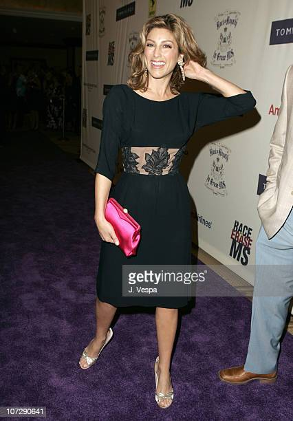 Jennifer Esposito during 12th Annual Race to Erase MS CoChaired by Tommy Hilfiger and Nancy Davis Red Carpet at The Westin Century Plaza Hotel Spa in...