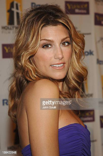 Jennifer Esposito during 9th Annual Hollywood Film Festival Awards Gala Ceremony Red Carpet at Beverly Hilton in Los Angeles California United States