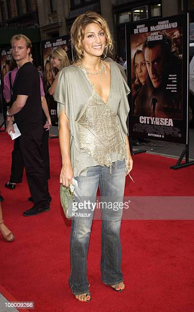 Jennifer Esposito during City By The Sea Premiere New York at Union Square Theatre in New York City New York United States
