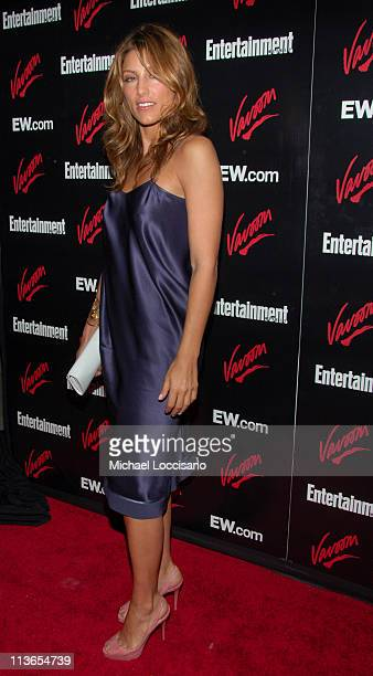 Jennifer Esposito during Entertainment Weekly 2007 Upfront Party Red Carpet at The Box in New York City New York United States