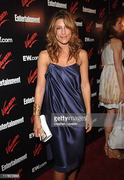Jennifer Esposito during Entertainment Weekly/Vavoom 2007 Upfront Party Red Carpet at The Box in New York City New York United States