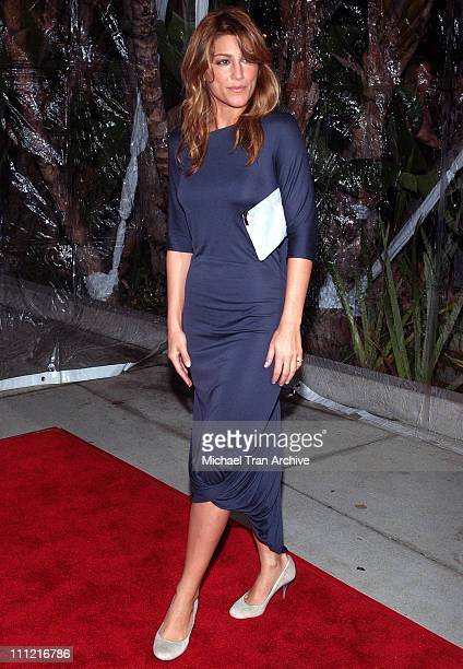Jennifer Esposito during LionsGate Crash/Weeds Golden Globe Nominee Party Arrivals at Morton's in West Hollywood California United States