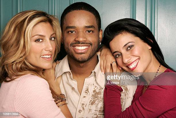 Jennifer Esposito Larenz Tate and Bahar Soomekh during 2004 Toronto International Film Festival Crash Portraits at Intercontinental in Toronto...