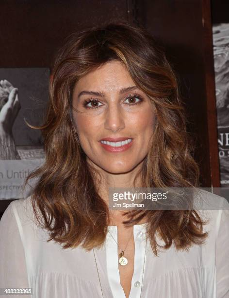 Jennifer Esposito signs copies of her book Jennifer's Way My Journey With Celiac Disease at Barnes Noble Tribeca on May 5 2014 in New York City