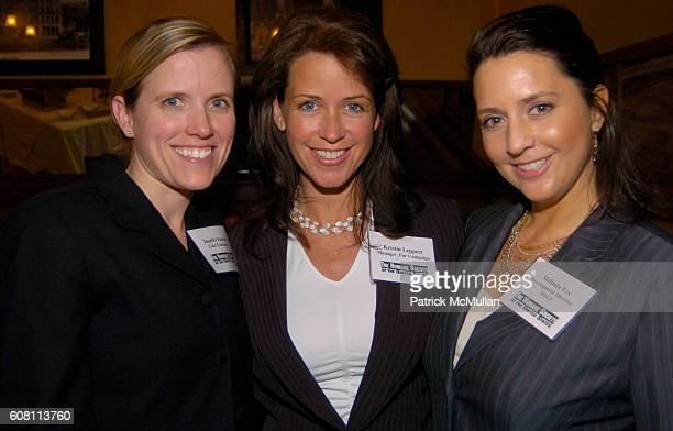 Jennifer Fearing Kristin Leppert and Melinda Fox attend THE HUMANE SOCIETY OF THE UNITED STATES AND BeKIND present THE 2006 ANIMAL PROTECTION...