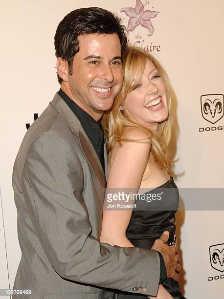 Jennifer Finnigan and fiancee Jonathan Silverman during 8th Annual Lili Claire Foundation Benefit at Beverly Hilton Hotel in Beverly Hills,...