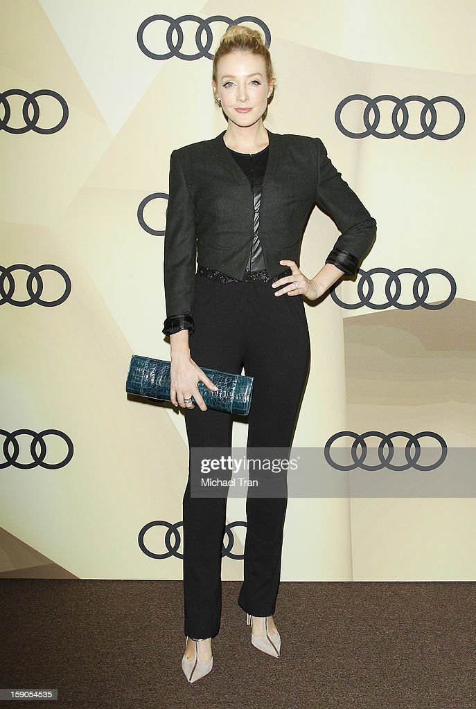 Jennifer Finnigan arrives at the Audi Golden Globe 2013 kick off cocktail party held at Cecconi's Restaurant on January 6, 2013 in Los Angeles, California.