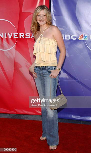 Jennifer Finnigan during 2004 NBC All Star Party Arrivals at Universal Studios in Universal City California United States