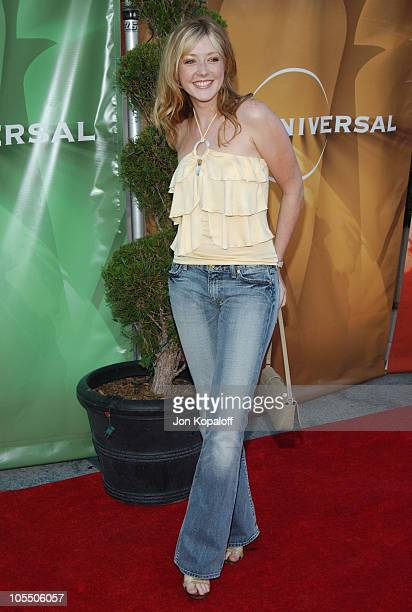 Jennifer Finnigan during 2004 NBC All-Star Party at Universal Studios Hollywood in Universal City, California, United States.
