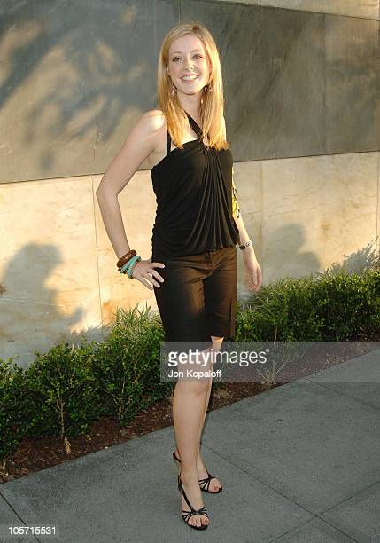 Jennifer Finnigan during CBS Summer 2005 Press Tour Party at Hammer Museum in Westwood California United States
