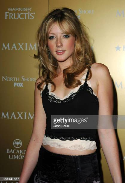 Jennifer Finnigan during Maxim Magazine Hot 100 Party in Celebration of the Grand Opening of Body English In the Hard Rock Hotel Casino Red Carpet at...
