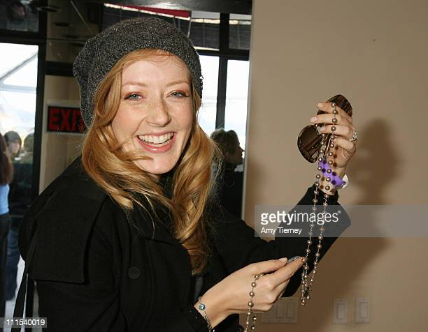 Jennifer Finnigan during Primary Action Golden Globe Suite Day 2 at Private Residence in Los Angeles California United States