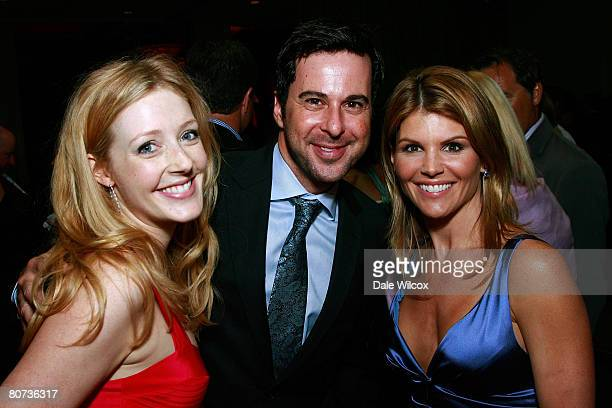 Jennifer Finnigan, Jonathan Silverman and Lori Loughlin attend the Cool Comedy-Hot Cuisine Benefit for the Scleroderma Research Foundation at the...