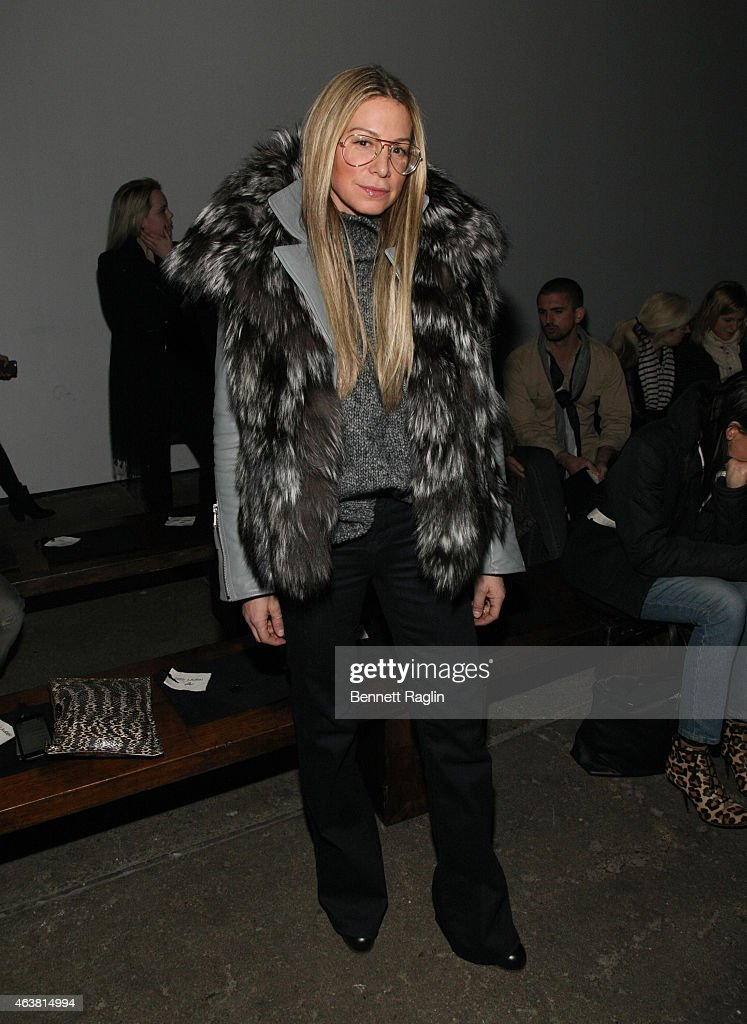 Jennifer Fisher attends the Greg Lauren fashion show during Mercedes-Benz Fashion Week Fall 2015 at ArtBeam on February 18, 2015 in New York City.