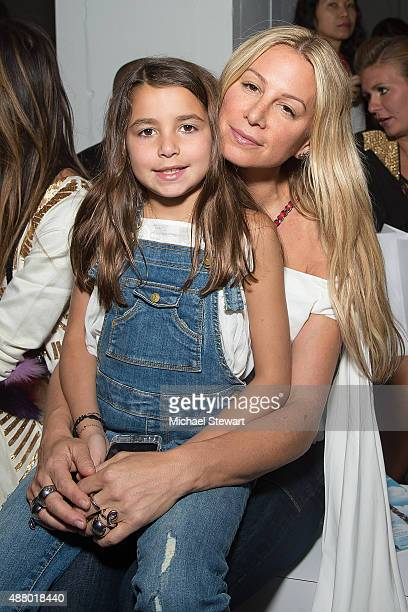 Jennifer Fisher attends the Mara Hoffman fashion show during Spring 2016 New York Fashion Week at The Gallery, Skylight at Clarkson Sq on September...