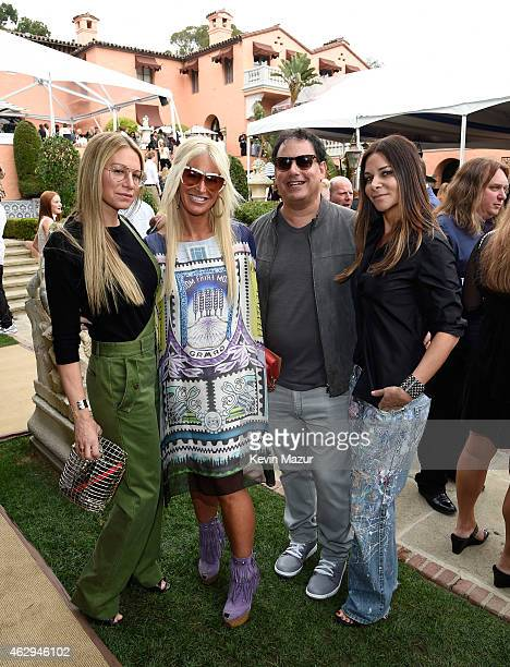 Jennifer Fisher Beth Meiselas Kenny Meiselas and Lauran Walk attend the Roc Nation and Three Six Zero PreGRAMMY Brunch at Private Residence on...