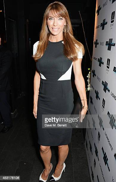 Jennifer Flavin attends an after party following the World Premiere of 'The Expendables 3' at DSKTRT on August 4 2014 in London England