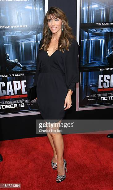 Jennifer Flavin attends the 'Escape Plan' premiere at Regal EWalk on October 15 2013 in New York City