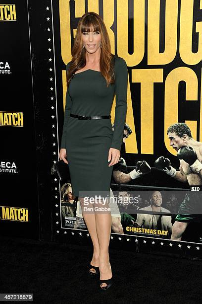 Jennifer Flavin attends the Grudge Match screening benefiting the Tribeca Film Insititute at Ziegfeld Theater on December 16 2013 in New York City