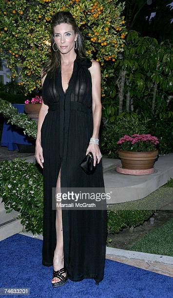Jennifer Flavin attends the YSL pool party at theThe Beverly Hills Hotel on June 14 2007 in Beverly Hills California