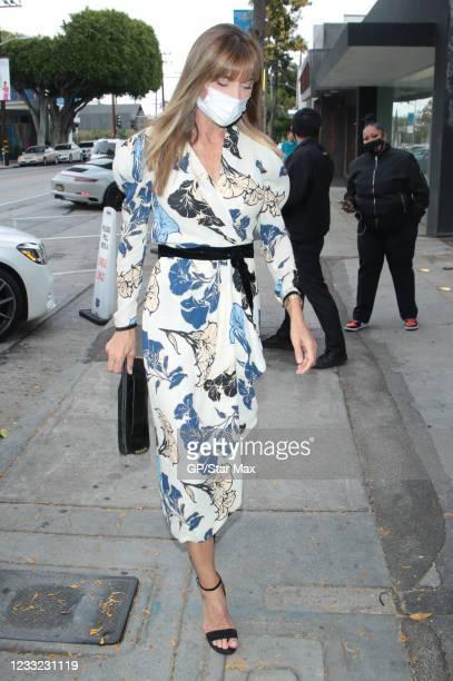 Jennifer Flavin is seen on June 1, 2021 in Los Angeles, California.