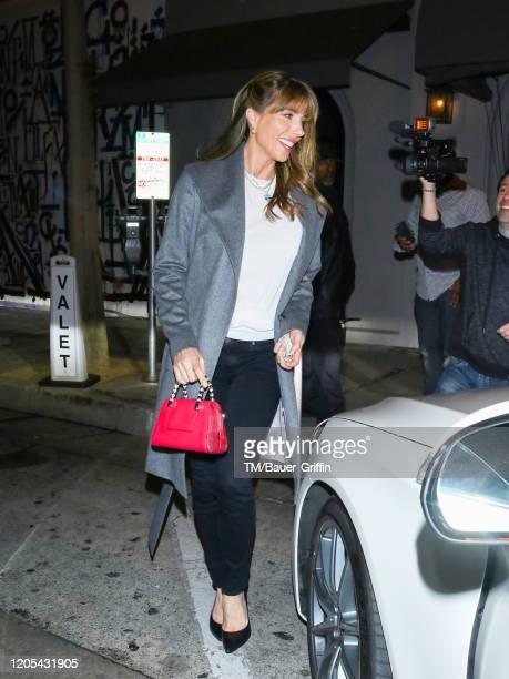 Jennifer Flavin is seen on March 05, 2020 in Los Angeles, California.