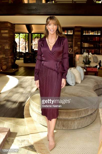 Jennifer Flavin Stallone attends Diane von Furstenberg and Academy Museum of Motion Pictures Host 6th Annual Oscars Luncheon to Celebrate Female...