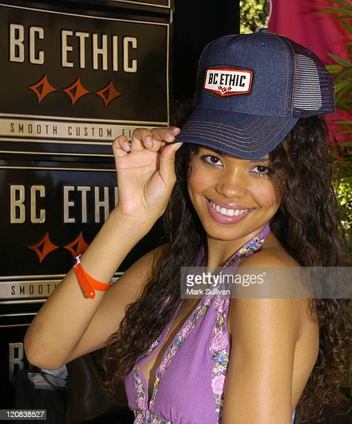 Jennifer Freeman at BC Ethic during Silver Spoon Hollywood Buffet Day One at Private Estate in Los Angeles California United States Photo by Mark...