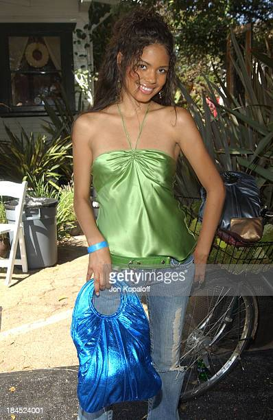 Jennifer Freeman at goldenbleu during Style Lounge Honoring Heal the Bay Presented by Kari Feinstein PR Day 1 at Chaz Dean Studio in Hollywood...
