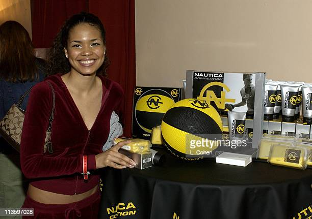 Jennifer Freeman at Nautica during The Oxygen Celebrity Dodgeball Tournament to Benefit the Elizabeth Glaser Pediatric AIDS Foundation Celebrity Gift...