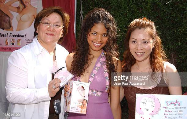 Jennifer Freeman at NuBra USA during Silver Spoon Hollywood Buffet Day One at Private Estate in Los Angeles California United States Photo by...