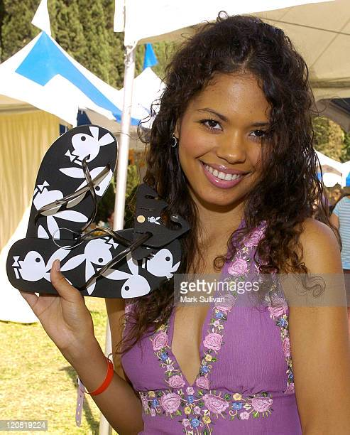 Jennifer Freeman at Playboy Footwear during Silver Spoon Hollywood Buffet Day One at Private Estate in Los Angeles California United States Photo by...