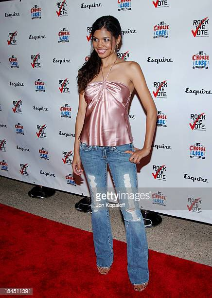 Jennifer Freeman during Esquire Magazine Hosts 'Young Hollywood Votes' at The Esquire House Los Angeles in Beverly Hills California United States