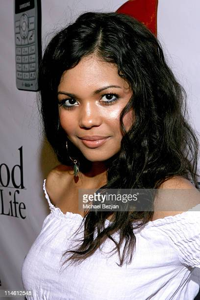 Jennifer Freeman during LIVEstyle Entertainment Presents PreMTV Movie Awards Hollywood Life Lounge Evening Arrivals in Los Angeles California United...