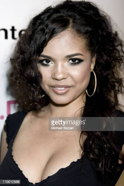 Jennifer Freeman during Reggie Bush Hosts the Grand Opening of Rock Star at Trifecta Lounge at Trifecta Lounge in Los Angeles California United States