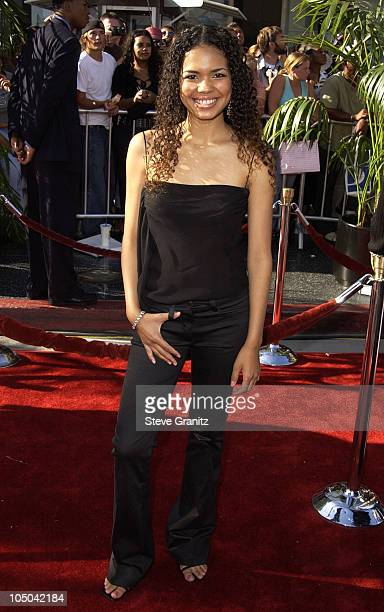 Jennifer Freeman during The 2nd Annual BET Awards Arrivals at The Kodak Theater in Hollywood California United States