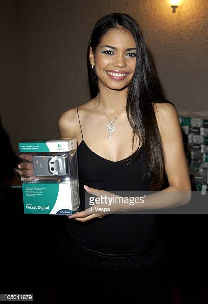 Jennifer Freeman with the Logitech Digital Camera during 34th NAACP Image Awards Zino Platinum Talent Lounge at Universal Amphitheatre in Universal...