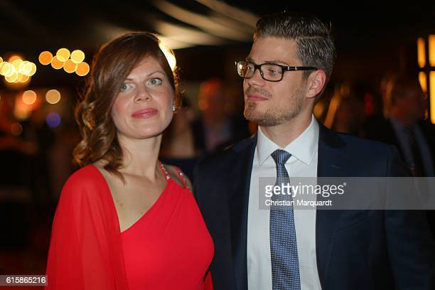 Jennifer Fuchsberger and Julien Fuchsberger attend the 6th Diabetes Charity Gala at TIPI am Kanzleramt on October 20 2016 in Berlin Germany